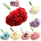 Happy Mother's Day Artificial Fake Flowers Carnations Floral Hydrangea Decor