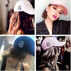 Street Antisocial Social Club Weird Hat Baseball Cap Blue Black White Pink New