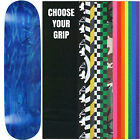"Skateboard Deck Pro 7-Ply Canadian Maple STAINED BLUE With Griptape 7.5"" - 8.5"""