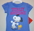 NWT ☀SNOOPY☀ TOTALLY AWESOME Girls t-shirt NEW  3T