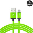 Type-C Cable 10FT LONG Charging Charger Cord 10 Foot 6 Pack For USB-C SmartPhone