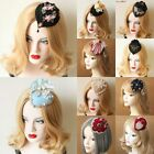 Hair Clip Fashion Hair Accessories Elegant Headdress Fascinator Party Hat Lady