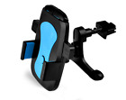 Blue -ZH253 360° Car Air Vent Mount Cradle Holder Stand For Cell Phone GPS Apple