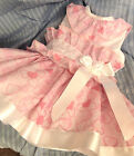 DREAM SPANISH HEARTS NETTED LINED SUMMER 2017  DRESS 0-5 years OR REBORN DOLLS