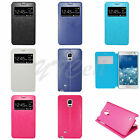 EagleCell Samsung Galaxy Note Edge Note 4 Flip Wallet Call Window Case Cover PFC