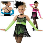 NEW 'Let Me Entertain You' Tap Jazz Dance Skating Baton Competition Costume