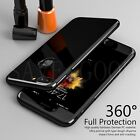 360°Full Body Mirror Hard Slim Case Cover Tempered Glass For iPhone 6s 7 7 Plus