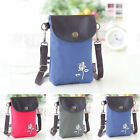 Hot Sale Mini Mobilephone Bag Portable Messenger Bags Printed Cell Phone Pouch