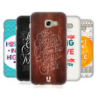 HEAD CASE DESIGNS FAMOUS BIBLE VERSES SOFT GEL CASE FOR SAMSUNG GALAXY A5 (2017)