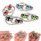 Stylish Key Ring Hand spinner Fidget Bearing Tri-Spinner EDC Toy For Autism ADHD