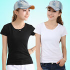 New Summer Women's Pure ladies T-shirt  fashion all-match shirt