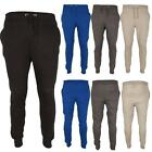 New Mens Sports Fitness Gym Plain Jogging Slim Fit Bottoms Sweat Pants Joggers