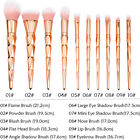 12pcs Unicorn Mermaid Makeup Brushes Foundation Set Cosmetic Blush Face Powder фото