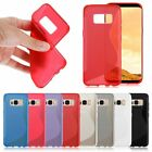Soft Shockproof Gel Protective Back Case Cover Skins for Samsung Galaxy S8 plus