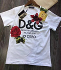 2017 spring & summer occident black or white popular T shirt leisure S M L LOVE