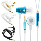 Universal Jack Wire Earphone Earbud Super Bass In Ear Headset Headphone W/MIC