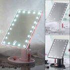 New 360°Rotation 22LED Adjustable Touch Dimmable Desktop Cosmetic Makeup Mirror