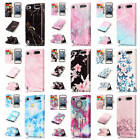 For iPod Touch 5 / 6 Colorful Patterns Leather Card Wallet Stand Flip Case Cover
