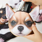 Novelty 3D Dog Face Pattern Coin Purse Bag Cute Puppy Change Money Wallet Pouch