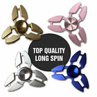 Fidget Finger Spinner Hand Focus Long Spin Aluminum ADHD ADD Stress Releif Toys