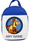 Personalised Tigger Style Lunch/Sandwich Bag *Pink Blue Red*