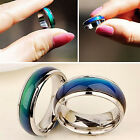 CHIC New Fashion Mood Ring Color Changing Stainless Steel Ring Sizes 6/7/8/9/10