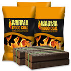 WARMA Fuel Pallet - 100kg Wood Coal & 500kg Peat Briquettes - Long Lasting Burn