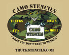 Camouflage Truck Stencils - Smaller Kits - Multiple Patterns
