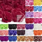 20pcs Artificial Fake Flower Heads Big Rose 70mm Home Wedding Party Lots