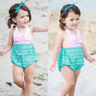 Toddler Baby Kids Girls Romper Bodysuit Jumpsuit Outfits Beach Clothes Sunsuit i