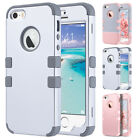 Shockproof Hybrid Rubber Hard Protective Case Cover For Apple iPhone 5/5S/SE