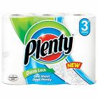 Plenty The Original One Rolls 2-Ply Paper Cleaning Kitchen Towels 3, 12, 24 Pack
