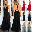 Women Evening Party Dress Bridesmaid Formal Multi Way Wrap Long Dresses USHF