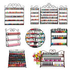 Big Nail Polish Wall Mount Rack stand Metal Organizer Display up to 180 Bottles