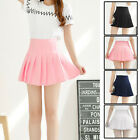 Fashion Women Girl Slim Thin High Waist Pleated Tennis Skirts Mini Dress Playful