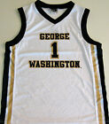 GEORGE WASHINGTON COLONIALS YOUTH BASKETBALL JERSEY NCAA #1 NEW! YOUTH M, L, XL