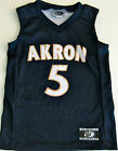 AKRON ZIPS YOUTH NCAA BASKETBALL JERSEY #5 NEW! YOUTH M OR XL