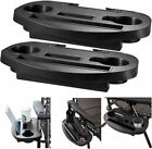 Zero Gravity Sun Lounger Chair Tray Side Clip Table Garden Recliner Holder Cup