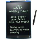 12/8.5 Inch LCD Writing Board Paperless Writing Pad Notepad Drawing Graphics
