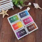 Multi Colors Ink Pads Portable Stamp Oil based Rubber Wood Fabric Scrapbooking