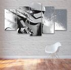 Star Wars Stormtrooper 5 Panel Canvas Art, Space, Wall Art, Picture, Print #029