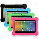 2018 7  INCH KIDS CHILD CHILDREN GAMES ANDROID 4.4 TABLET PC QUAD CORE HD ColorS