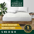 Giselle Bedding Polyester Electric Blanket Heated Fully Fitted Warm Bed S/D/Q/K
