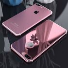For iPhone 6 6s 7 Plus Ultra thin Case Hard Shockproof Cover Free Tempered Glass