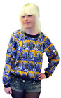 SALE! MARILYN MONROE ANDY WARHOL PEPE JEANS POP ART BLOUSE TOP Leonard K106