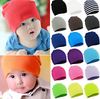 Boy Girls Child Newborn Baby Infant Toddler Kids Cotton Cute Hat Beanie Cap UK