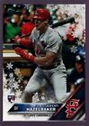JEREMY HAZELBAKER CARDINALS ROOKIE SNOWFLAKE VARIATION 2016 TOPPS HOLIDAY SSP