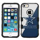 Dallas Cowboys #JS Hybrid Armor Case for iPhone SE/6/S/7/Plus/Galaxy S7/S8/Plus