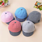 Baby Boys Girls Toddler Summer Cotton Hats Striped Baseball Cap Beret Sun Hat