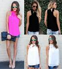 UK Sexy Womens One Shoulder Blouse Top Summer T-Shirt Beach Tops Ladies Blouses